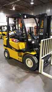 New Yale 5000lb capacity forklift only $525/month!!!