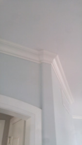 Crown molding, finish carpenter, crown moulding,  trim work