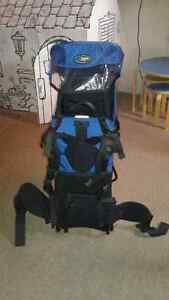 Mountain Equipment Coop backpack baby carrier.