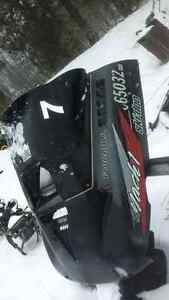 Two cargoboxs for sale and atv plow and sled parts to Kingston Kingston Area image 4