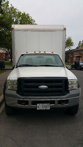 Ford F550 XL Super Duty V8 Diesel 16ft. box Certified and E-test