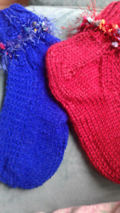 Ladies handknit Socks