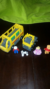 Lot Lego Duplo Autobus Camion Princesse Disney Winnie