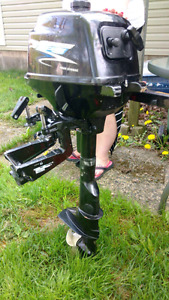 2014 2.6 hp APS short shaft 4 stroke. Almost new condition.