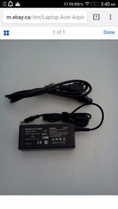 Want to buy a USED or NEW  Acer Aspire Laptop Charger