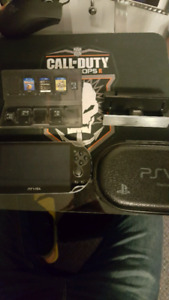 Ps Vita with lots of extras!