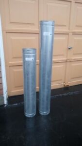 Direct vent pipes