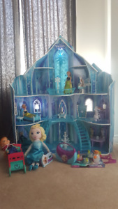 Disney Frozen Snowflake Mansion and other Frozen toys