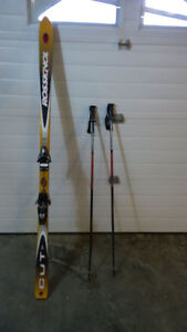 Downhill Skis and 9/12 mens boots