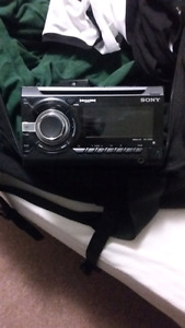 Aftermarket sony deck with interface (dodge)