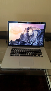 "MacBook Pro 15"" Retina i7 Paid Over $3100"