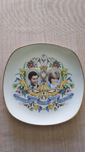 Prince Charles and Lady Diana Plate