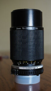 Nikon Series E 75-150mm f3.5 lens for sale.