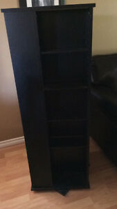 DVD / VHS  $40 stand holds up to 400 dvd's