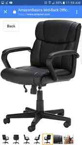 NEW IN BOX - Amazon Mid Back Chair