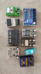 Lots of great pedals.