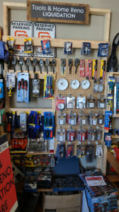 Tool & Home Reno Liquidation Sale   -     OPEN THIS WEEKEND