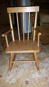 Children's rocking chair
