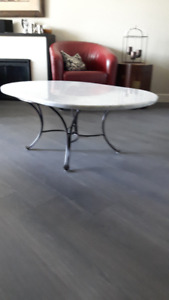 Marble Coffee & End Table