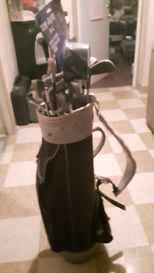 Golf Clubs NorthWestern Right Handed Golf Trends Bag