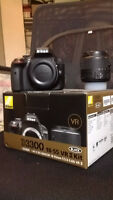 Nikon D3300 with Kit Lens mint condition