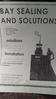 Bay sealing and solutions