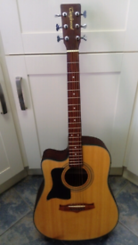 TangleWood Electric Acoustic Guitar Left Hander P/ex Considered