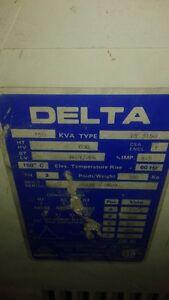 Delta 150KVA Transformer Sarnia Sarnia Area image 1