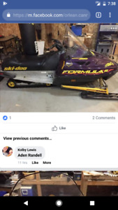 Wanted to buy skidoo parts