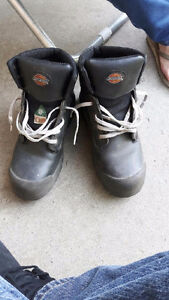 Men's dickies steel toed safety boots (CSA approved)