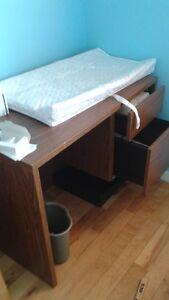 bureau + meubles tv
