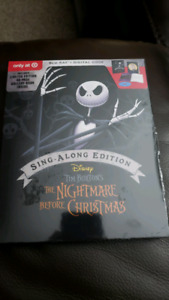 Hocus pocus and Nightmare before christmas Target bluray edition