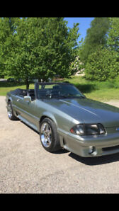 Beautiful '93 Mustang GT 5.O Convertible!!