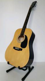 Squier (Fender) Acoustic Guitar. Mod: SA-105
