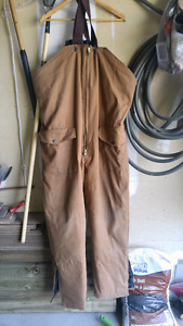 Work horse canvas insulated snow pant