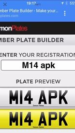 Private Number Plate M14 APK