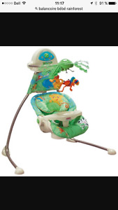 Balançoire rainforest fisherprice