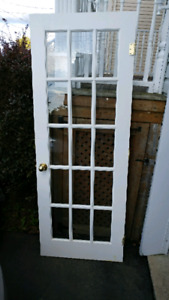 Single french door 30 inches