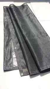 NEW Mesh tarp comes in black,red,green and blue
