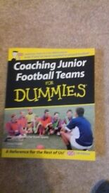 Collection of football coaching books for sale
