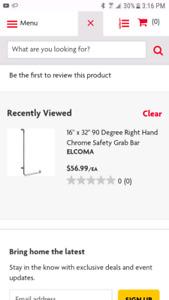 Safety grab bar