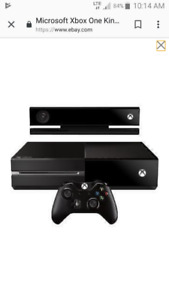 Xbox one console with kinect and shape up game