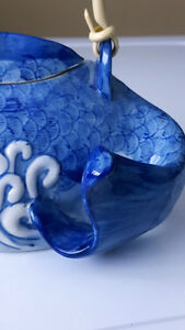Porcelain Blue and White Tea Pot Prince George British Columbia image 2