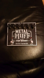EHX metal muff with top boost