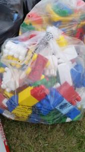 A lot of Mega blocks (10 big bags)  ($80 OBO)