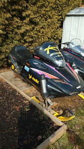 2 Yamaha vmax 600