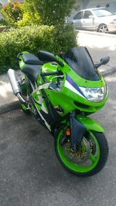 Kawasaki ninja zxr-600 1999 sport
