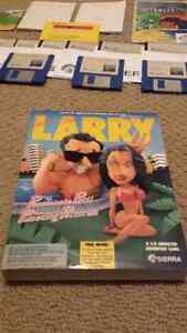 Leisure Suit Larry III 1989 big box PC game