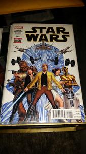 MARVEL COMICS STAR WARS #001, NM!LUKE SKYWALKER!