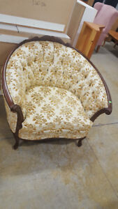 French Provincial Arm Chair at Cambridge ReStore
